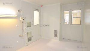 clean-room-doors-double-hinged