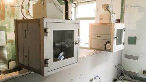 clean-room-pass-box-installasation