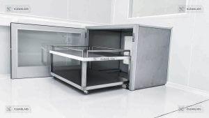 laboratory-pass-box-with-rolling-shelf