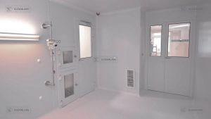 clean-room-doors-double-hinged