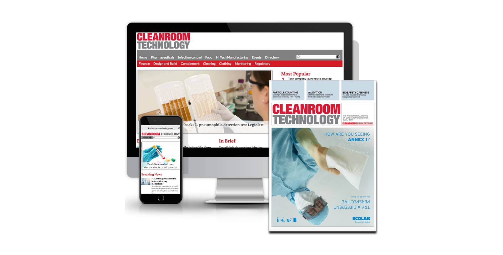 Leading publication in the industry features KleanLabs