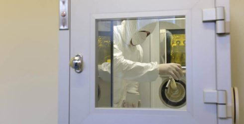KleanLabs spark-proof clean room pass through boxes for elevated safety